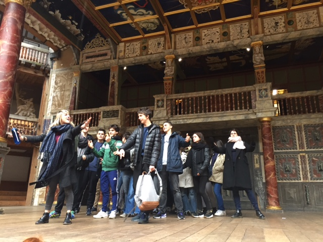 Au Globe Theater de Londres